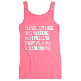 Cheerleading Women's Athletic Tank Top - All Weekend Cheerleading