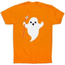 Hockey Tshirt Short Sleeve Hockey Ghost