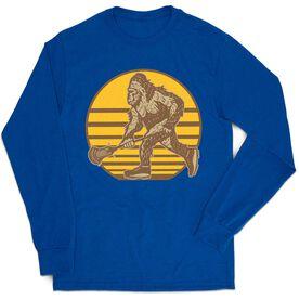 Guys Lacrosse Tshirt Long Sleeve - BigFoot