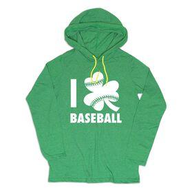 Men's Baseball Lightweight Hoodie - I Shamrock Baseball