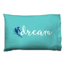 Skiing Pillowcase - Dream