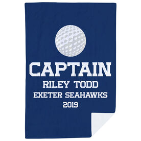 Golf Premium Blanket - Personalized Captain