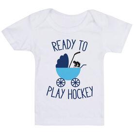 Hockey Baby T-Shirt - Ready To Play Hockey