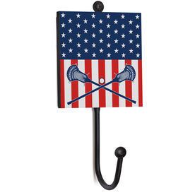 Guys Lacrosse Medal Hook - USA Lax