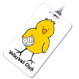 Volleyball Bag/Luggage Tag Volleyball Chick