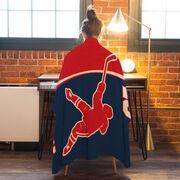 Hockey Premium Blanket - Personalized Slapshot