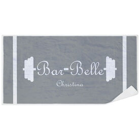 Cross Training Premium Beach Towel - Bar Belle