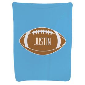 Football Baby Blanket - Personalized Football