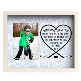 Hockey Premier Frame - Dear Mom Heart