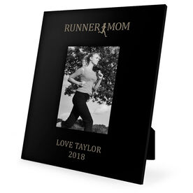Running Engraved Picture Frame - Runner Mom