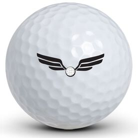 Double Winged Golf Balls