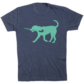 Field Hockey Tshirt Short Sleeve Flick The Field Hockey Dog