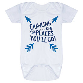 Baby One-Piece - Crawling...Oh! The Places You'll Go!