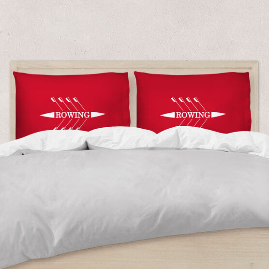 Crew Pillowcase - Rowing Boat