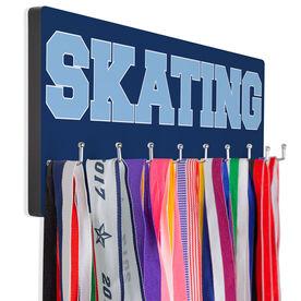 Figure Skating Hooked on Medals Hanger - Word