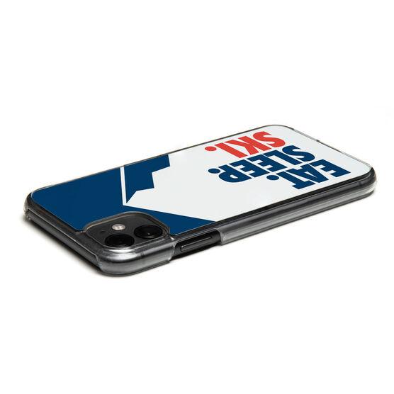 Skiing iPhone® Case - Eat. Sleep. Ski.