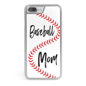 Baseball iPhone® Case - Mom With Ball Stitches
