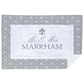 Personalized Premium Blanket - Mr. And Mrs. Elegant