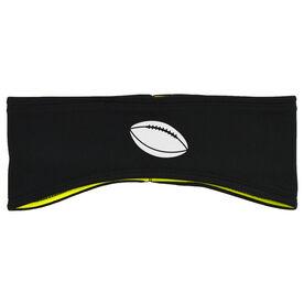 Football Reversible Performance Headband Football Ball