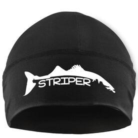 Beanie Performance Hat - Striper