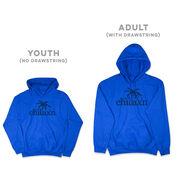 Lacrosse Hooded Sweatshirt - Just Chillax'n