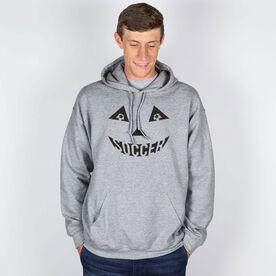Soccer Hooded Sweatshirt - Soccer Pumpkin Face