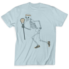 Guys Lacrosse Vintage T-Shirt - Never Stop Laxing