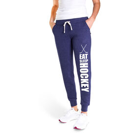 Hockey Women's Joggers - Eat Sleep Hockey