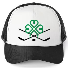 Hockey Trucker Hat - Luck Of Ice