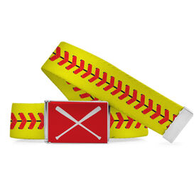 Softball Lifestyle Belt Illustrated Stitches