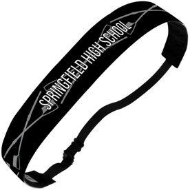 Crew Julibands No-Slip Headbands - Personalized Crossed Oars Stripe Pattern