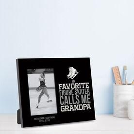 Figure Skating Photo Frame - Grandpa