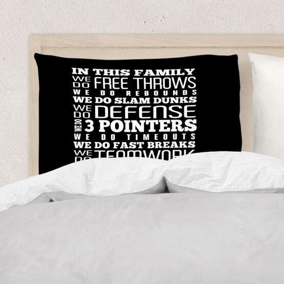Basketball Pillowcase - We Do Basketball
