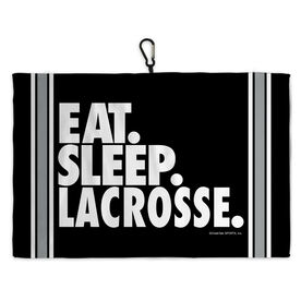 Lacrosse Bag Towels Eat Sleep Lacrosse