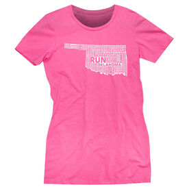Women's Everyday Runners Tee Oklahoma State Runner