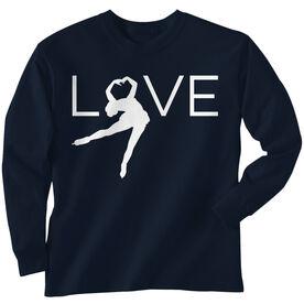 Figure Skating Long Sleeve Tee - Love