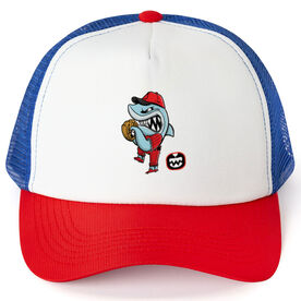 Seams Wild Baseball Trucker Hat - Rojo Chomp