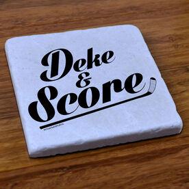 Hockey Stone Coaster Deke And Score