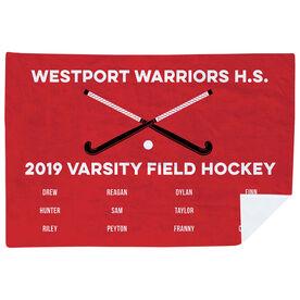 Field Hockey Premium Blanket - Team Roster
