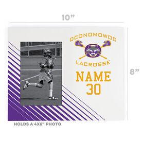 Wood Frame - Oconomowoc Lacrosse Logo