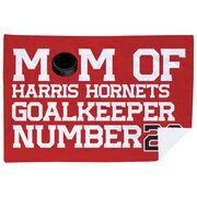 Hockey Premium Blanket - Personalized Hockey Mom