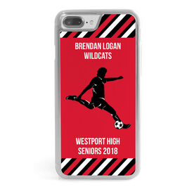 Soccer iPhone® Case - Personalized Guy Player