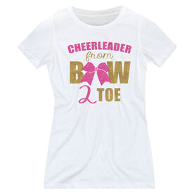 Cheerleading Women's Everyday Tee - Cheerleader From Bow 2 Toe