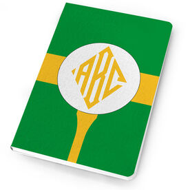 Golf Notebook Monogram