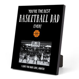 Basketball Photo Frame - You're The Best Dad Ever