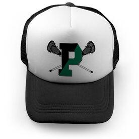 Trucker Hat - Pentucket Youth Lacrosse Logo