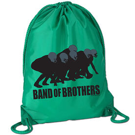 Band of Brothers Football Sport Pack Cinch Sack
