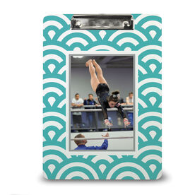 Gymnastics Custom Clipboard Your Photo Pattern