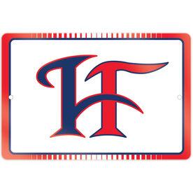 """Room Sign (18""""x12"""") - Hamilton Fairfield Logo (Red)"""
