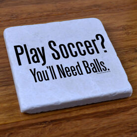 Play Soccer? - Stone Coaster